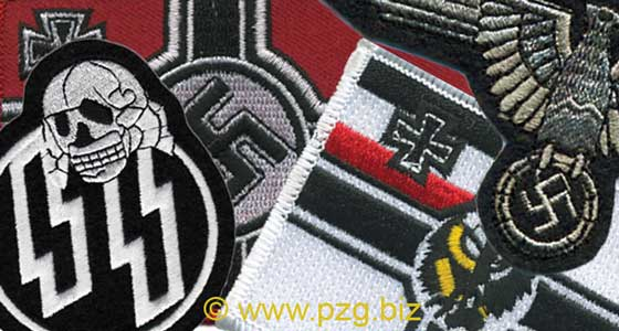 Patches of Hitler's Germany - Nazi Third Reich 1935-1945 | PzG Inc.